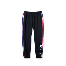 男针织长裤2019春季新款条纹休闲潮流收口运动长裤时尚裤子
