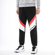 男子针织长裤2019春季新款条纹撞色新潮流酷运动休闲长裤
