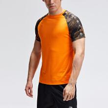 男子运动短袖针织衫