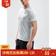 透气休闲圆领短袖针织T恤男