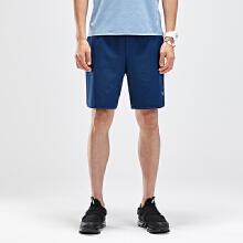 男子运动针织薄款透气休闲运动五分短裤男