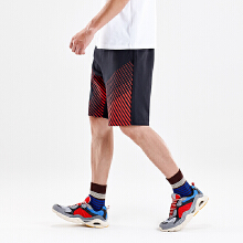 安踏男子2019夏新款五看著空中分裤篮球运动短裤
