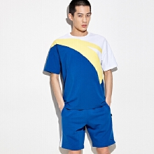2019夏季新款安踏大LOGO短袖针织衫