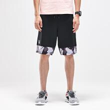 安踏logo男装五分裤2019春夏季