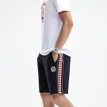 大众男装五分裤2019春夏季针织五分裤