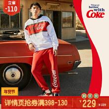 可口可乐男装针织长裤2019秋冬季