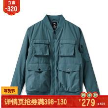 OFF男装棉夹克2019秋冬季