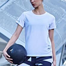 短袖女2019春夏新款舒适修身圆领跑步运动上衣休闲T恤