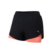 安踏女子运动防走光跑步瑜伽短裤