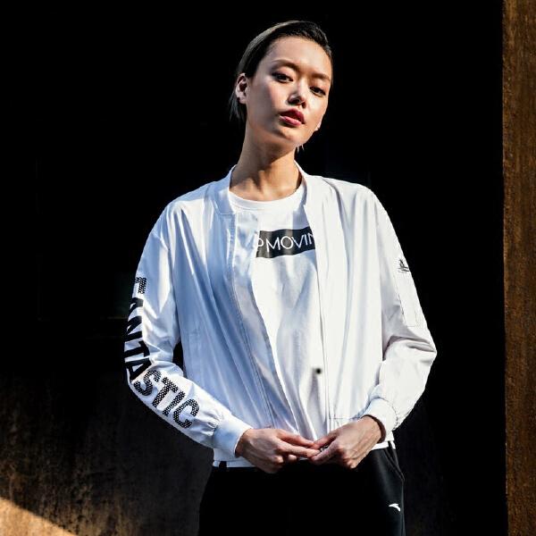 安踏 生活系列 女子单茄克-96738641
