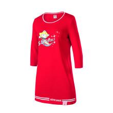 女子运动卫衣2019春季新款长款本命年款保暖舒适运动套头衫