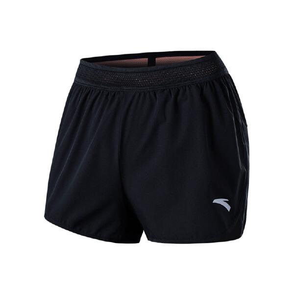 安踏 跑步系列 女子梭织短裤-96825301
