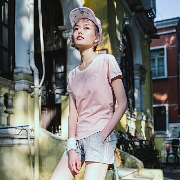安踏 生活系列 女子针织运动套-96828149