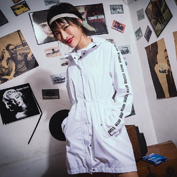 安踏 生活系列 女子梭织薄外套-96838616