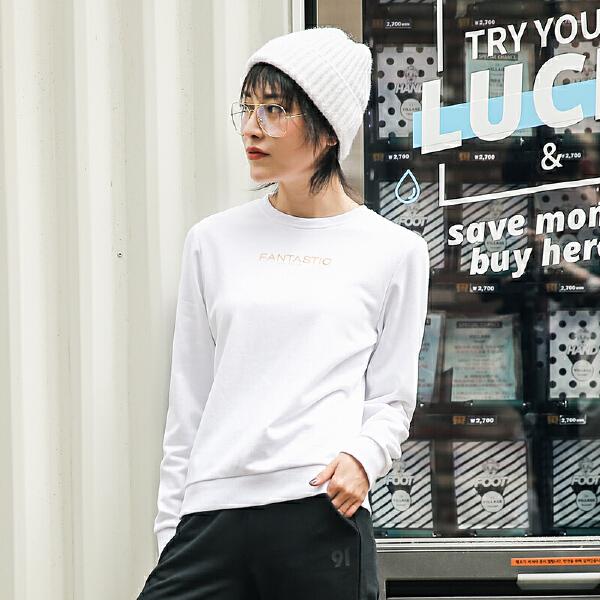 安踏 生活系列 女子套头衫-96838703