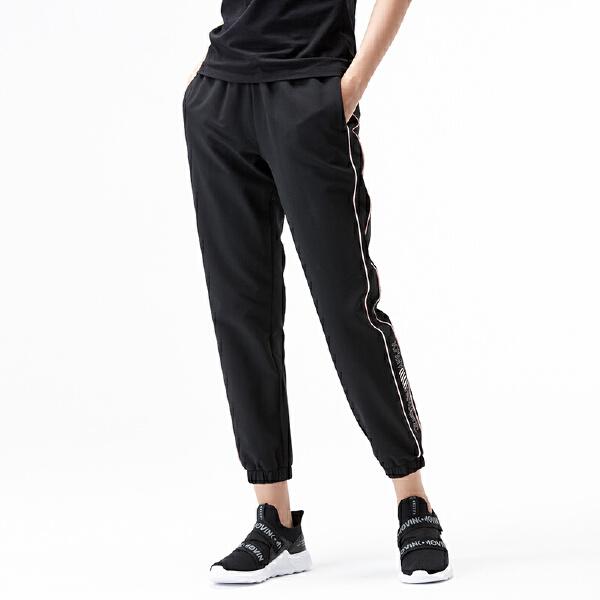 安踏生活系列冬季女子梭织运动长裤96848501
