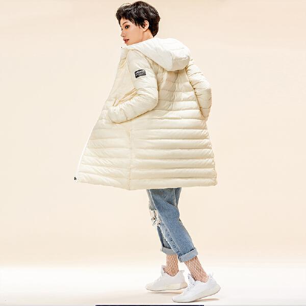 安踏生活系列冬季女子中长羽绒服96848920