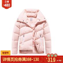女装羽绒服女短款冬新舒适保暖宽松翻领运动外套