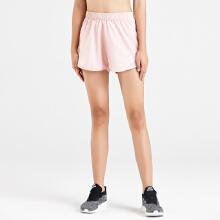 安踏2019新款女子纯色梭织运动短裤