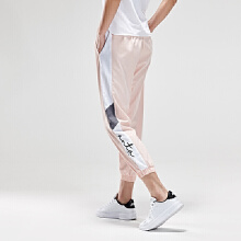 安踏2019新款夏季女子达人推荐薄梭织运动长裤
