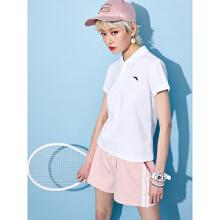 安踏2019新款女子运动休闲短袖POLO衫