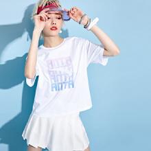 标志女装短T春夏季