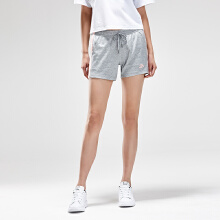 安踏女子2019夏新系带针织跑步运动短裤