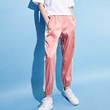 女装梭织运动长裤春夏季