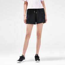 安踏女子2019新款夏季运休闲运动刺绣短裤