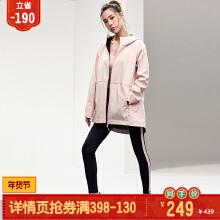 安踏女子2019新款秋季长款运动梭织外套