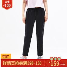 安踏女子2019新款秋季运动针织长裤