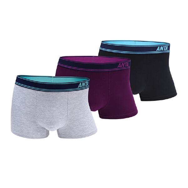 安踏男子运动内裤三条装99747971