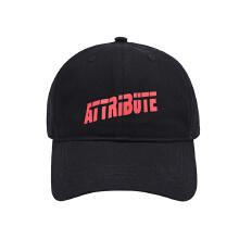 运动鸭舌帽新款时尚休闲黑色潮流太阳帽运动帽男女通用