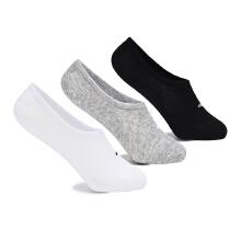 安踏女子小枫袜子新款袜船袜短袜运动袜组合三双〓装
