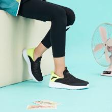 安踏2019儿童中大儿童网面透气一脚蹬跑鞋