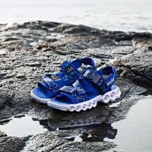 安踏儿童男童2019夏季新款软底女童中大童沙滩鞋