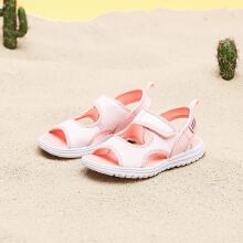 安踏儿童2019新款夏季女中大童沙滩凉鞋