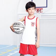 男服男中大童服篮球套