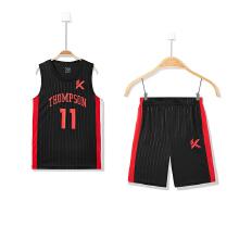 儿童篮球比赛套男童新款套♂装运动背心两件套♀运动套装