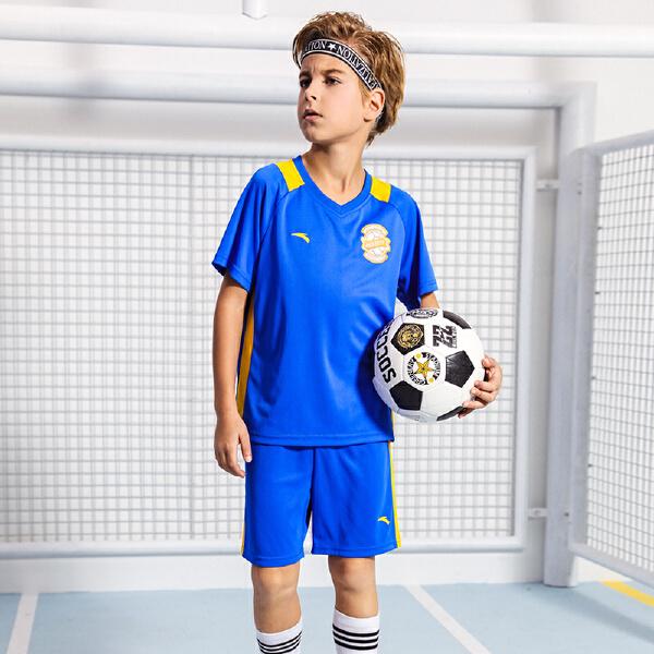 安踏儿童 男童足球比赛套-A35822208