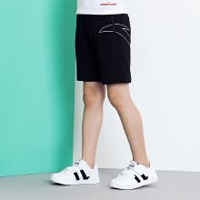 安踏儿童2019新款夏季中大儿童短裤运动五分裤