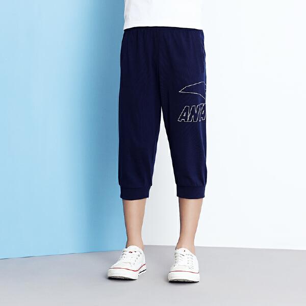 安踏儿童 男童针织七分裤-A35828783