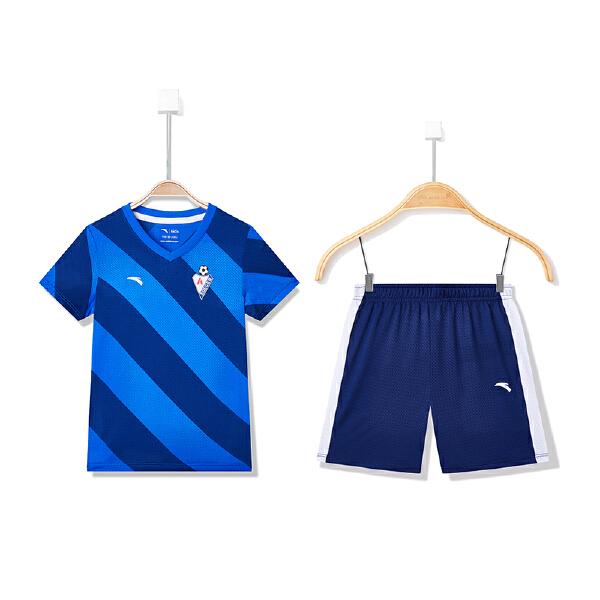 安踏儿童 男童足球比赛套-A35829202