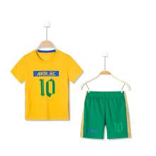 童装儿童运动套装男新款休闲小学生足球两件套