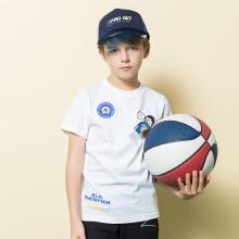 安踏儿童2019新款夏季中大童汤普森KT短袖