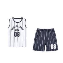 安踏儿童2019新款夏季中大童篮球比赛服