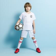 安踏儿童2019新款夏季男中大童足球比赛套