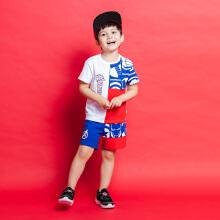 安踏儿童2019新款夏季小童运动套装
