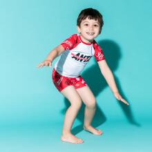 安踏儿童2019新款夏季小童游泳套装