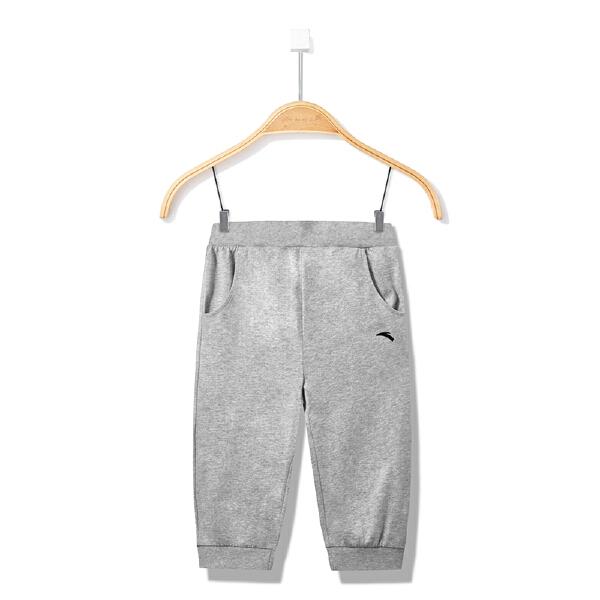 安踏儿童 女童针织七分裤-A36827780